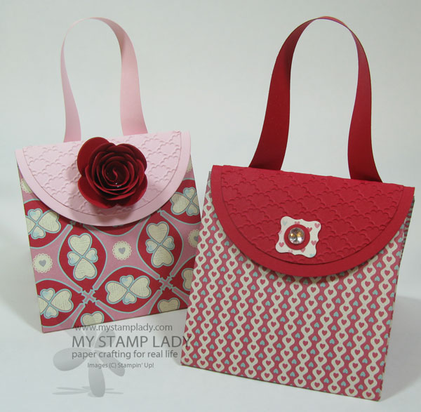 Make A Patterned Paper Explosion Purse