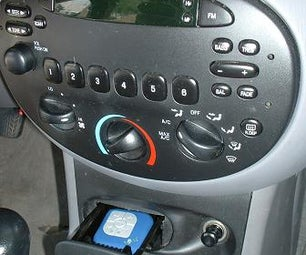 Invisible MP3 Player for Cars
