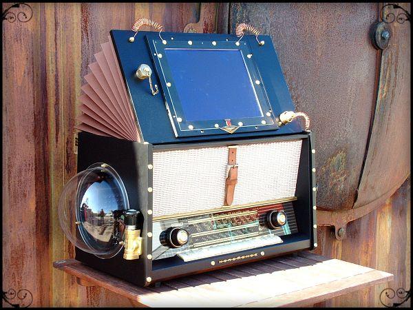 The Airship Pirate's Steampunk Jukebox