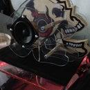 "The 3D Skull Surround Sound System (3/8"" Jack)"