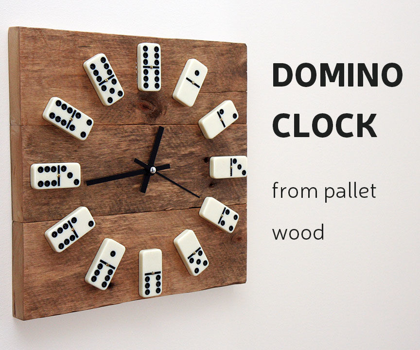 DIY: Domino Closk from Pallet wood