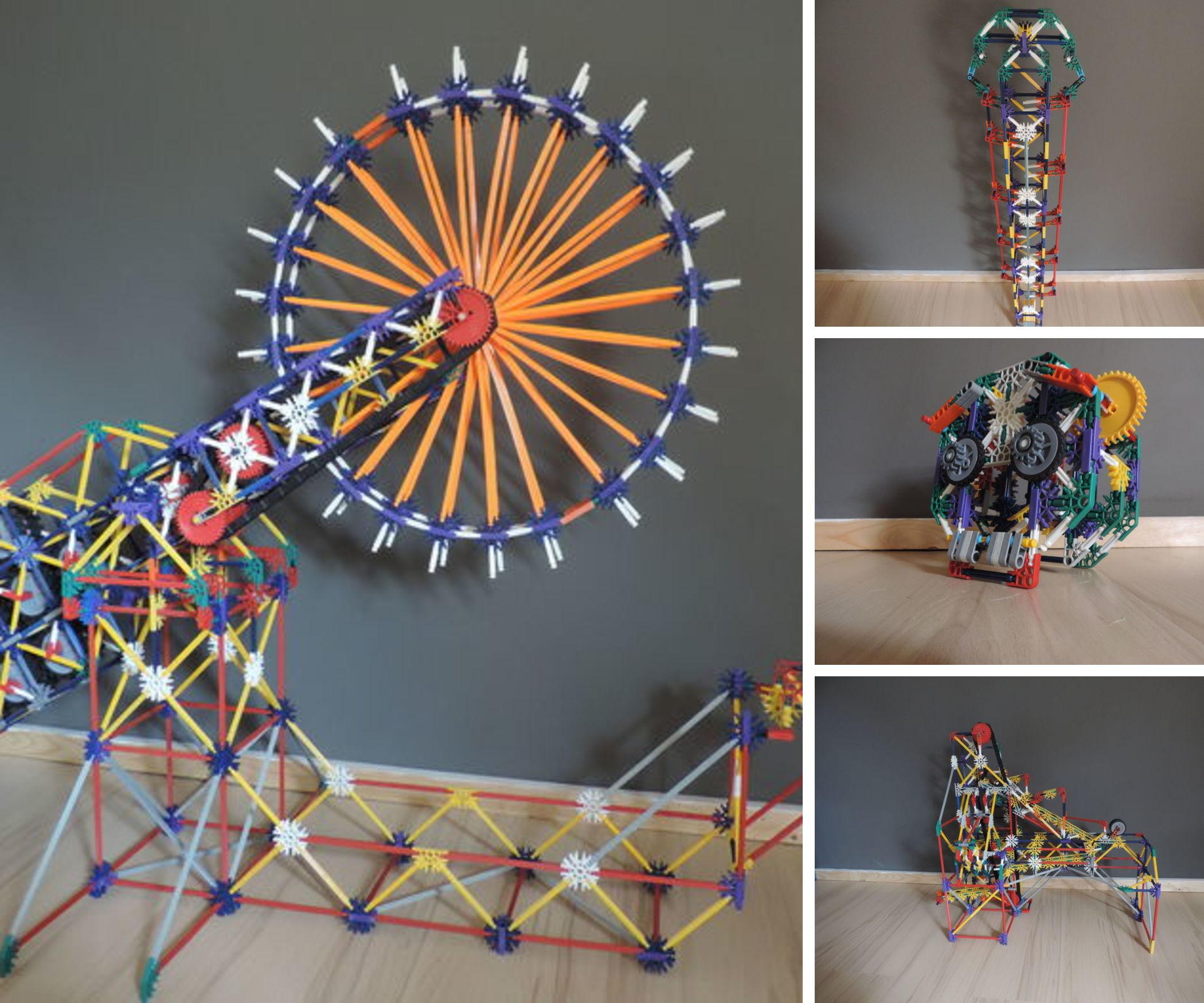 Thibault Art K'nex Ball Machine Elements