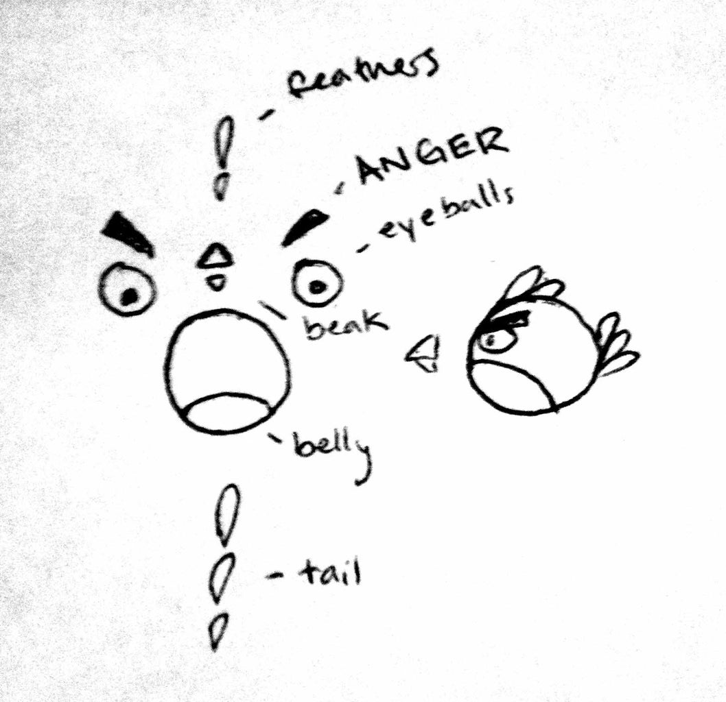 Draw Your Angry Design