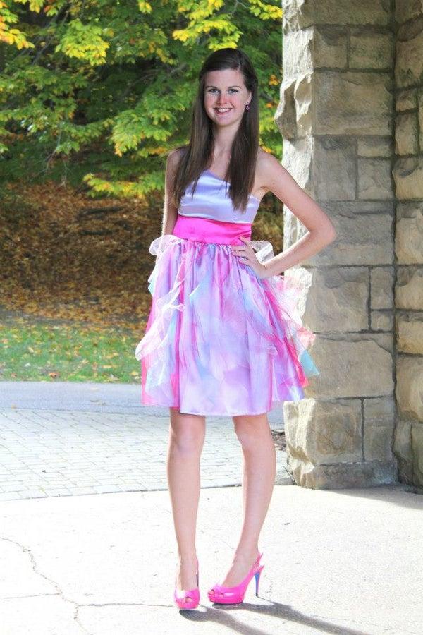 Handmade Homecoming Dress