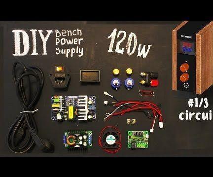 DIY Bench POWER Supply (circuit)