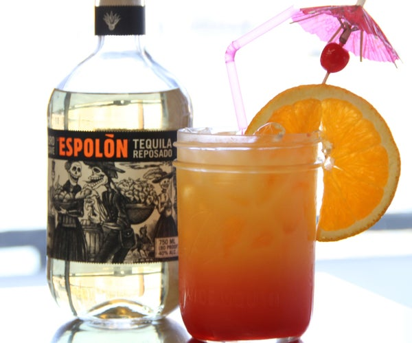 How to Make a Tequila Sunrise