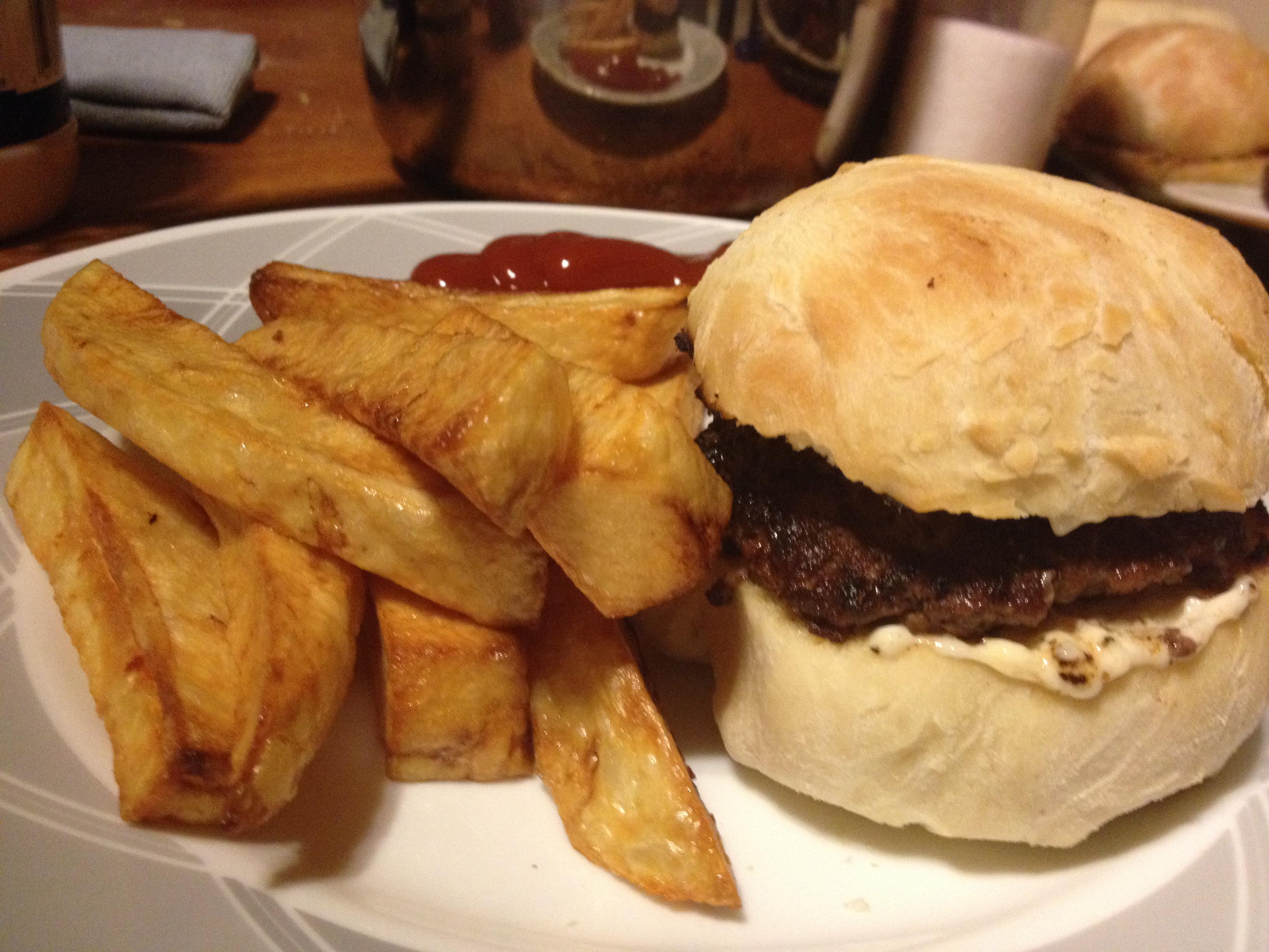 how to make hamburger buns
