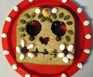 Calavera Sandwich (Day of the Dead Sugar Skull)