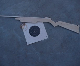 How to Make a Rubber Band Rifle