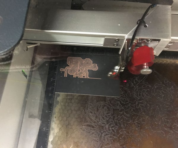 Make Circuit Boards With Lasers
