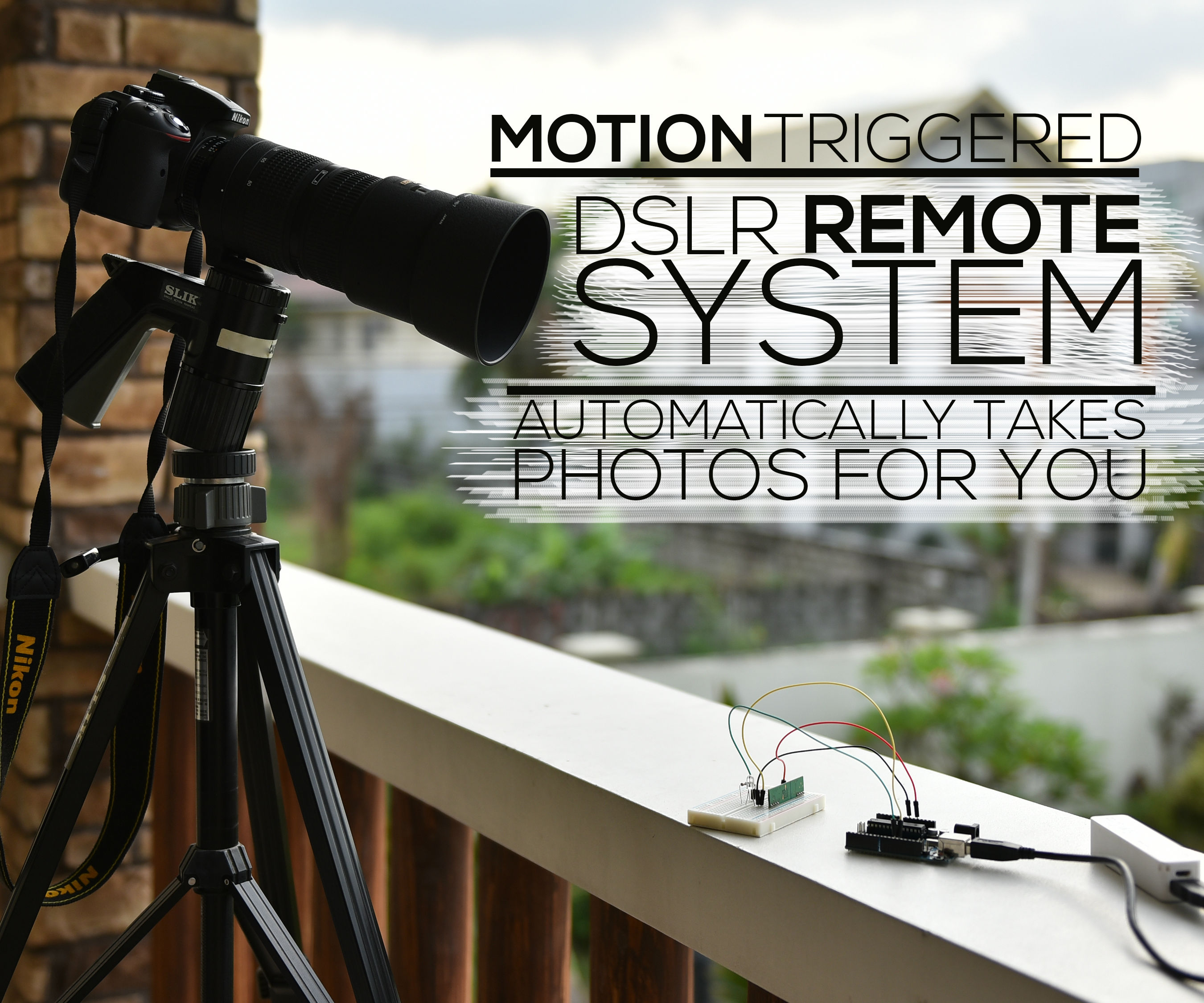 Motion Triggered DSLR Remote System