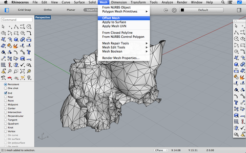 Offsetting Your Mesh