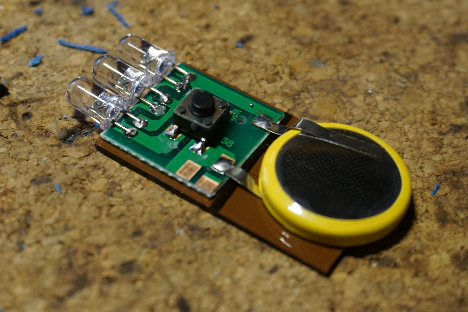 Build the Induction Light: Prepare the LEDs
