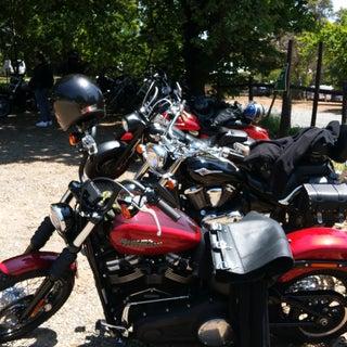 Installing a Garage Door Opener Wired to Motorcycle Hi-Beam