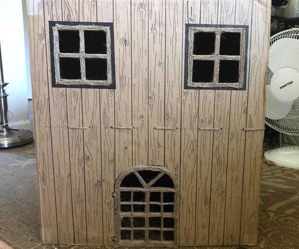 Cardboard Bunny House