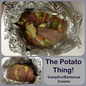 Campfire/BBQ Potato Thing