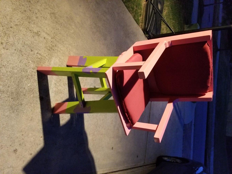 DIY Patrick Swivel Stool