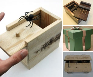 Puzzle and Trick Boxes