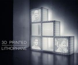 Make a Lithophane Lamp
