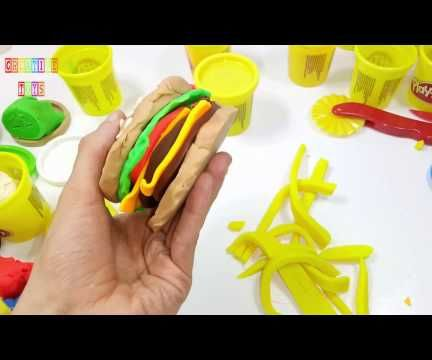 How to Make Hamburger With Play Doh