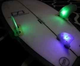 Surfboard LED Fins