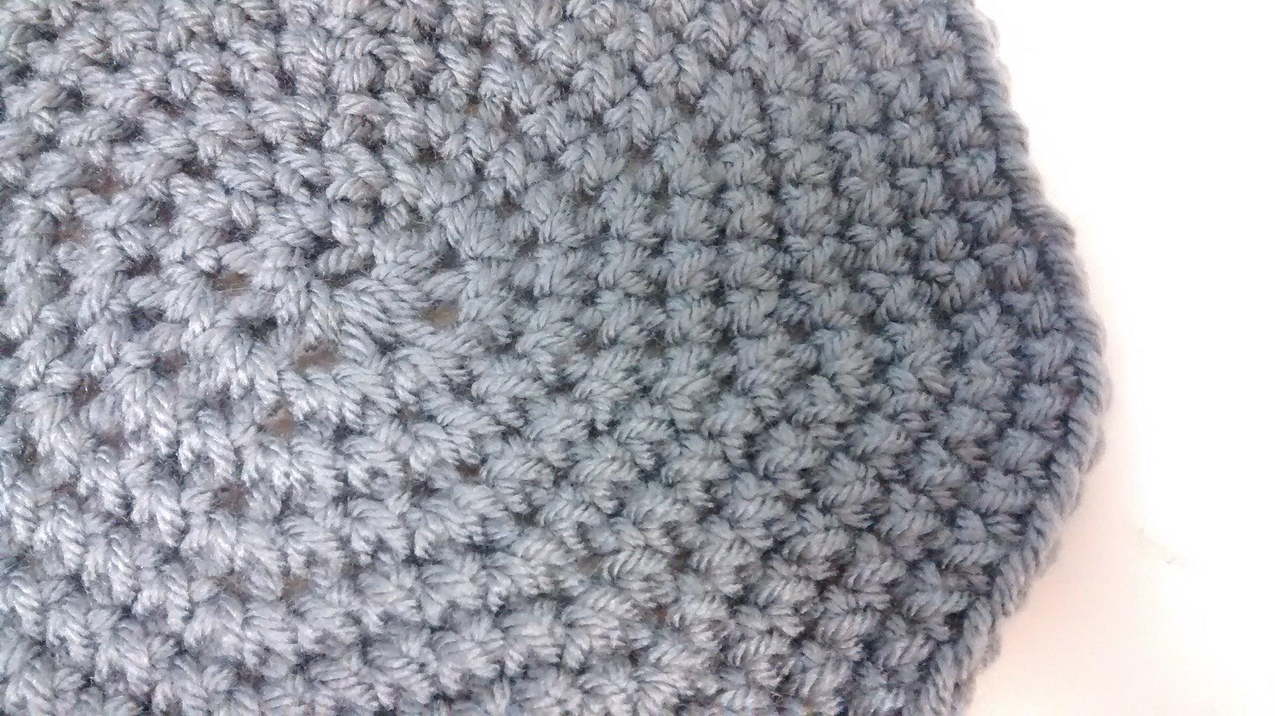 "Crocheting a Flat ""circle"""