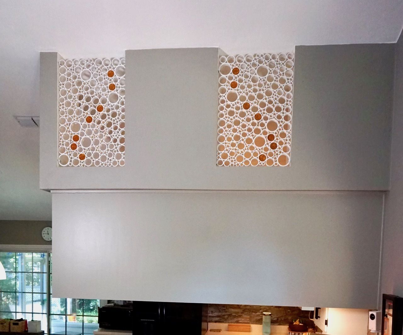How to Make PVC Pipe Artwork for Inside the Home