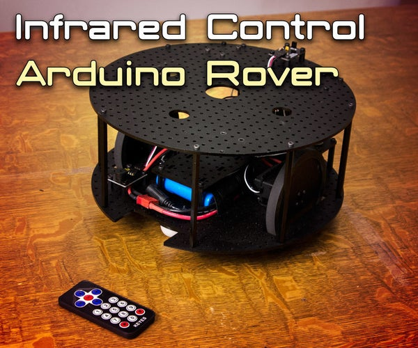 Controlling an Arduino Based Rover With IR Remote