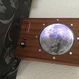 Lunar Phase Clock