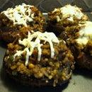 Couscous Stuffed Portabello Mushrooms