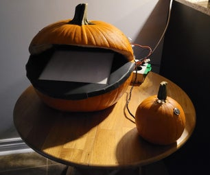 Make a Pumpkin Into a Pacman-Playing Game Console!