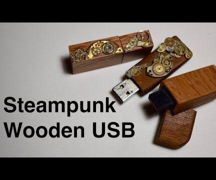 Wooden Steampunk USB
