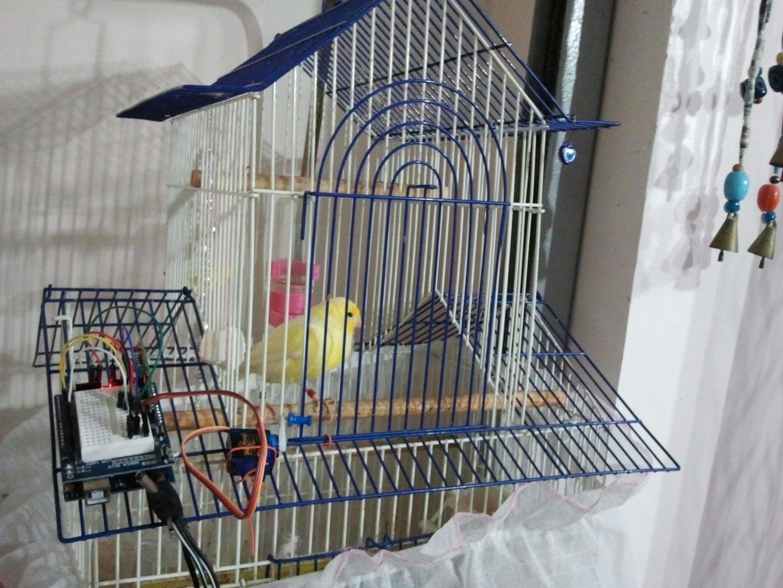 Remote Door for Cage