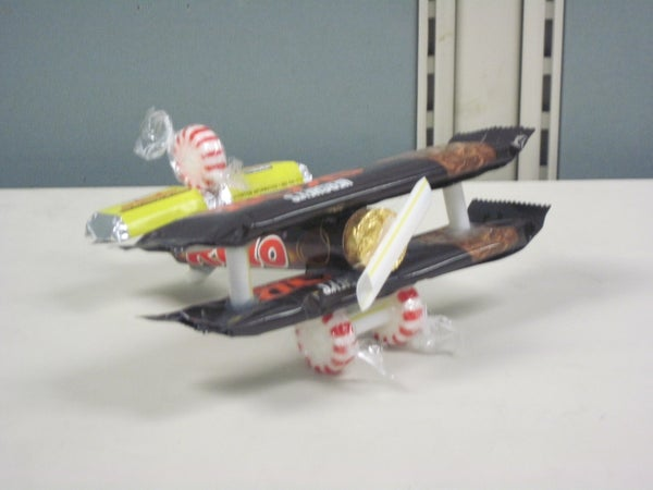 Candy Biplane