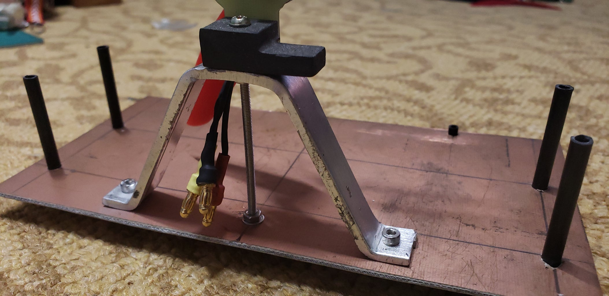 Motor Mount Base and Protect Frame