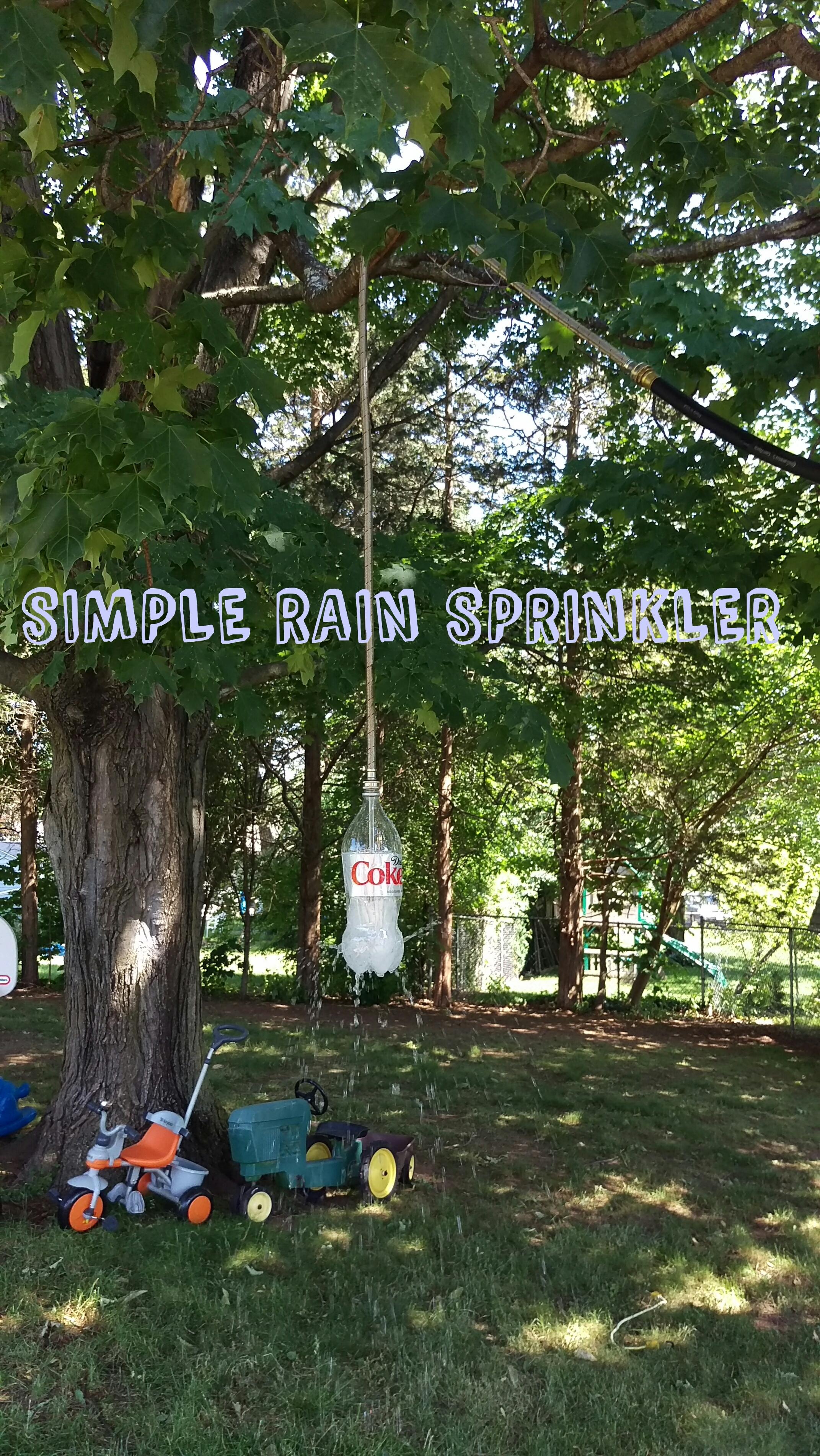 Simple Rain Sprinkler