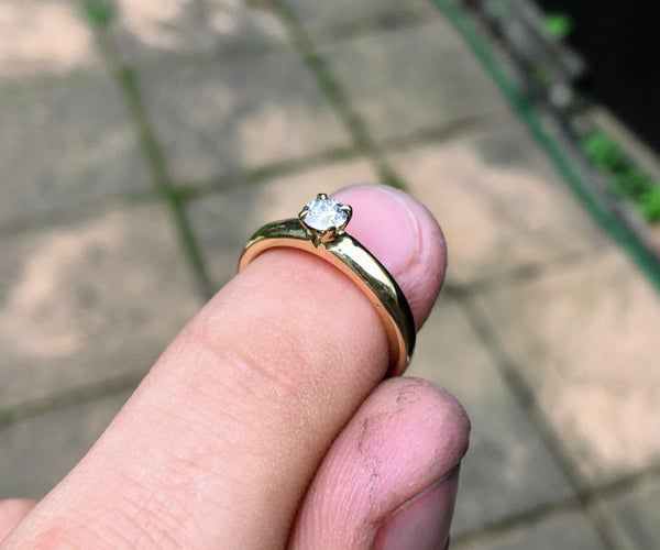 Making an Engagement Ring With Investment Casting