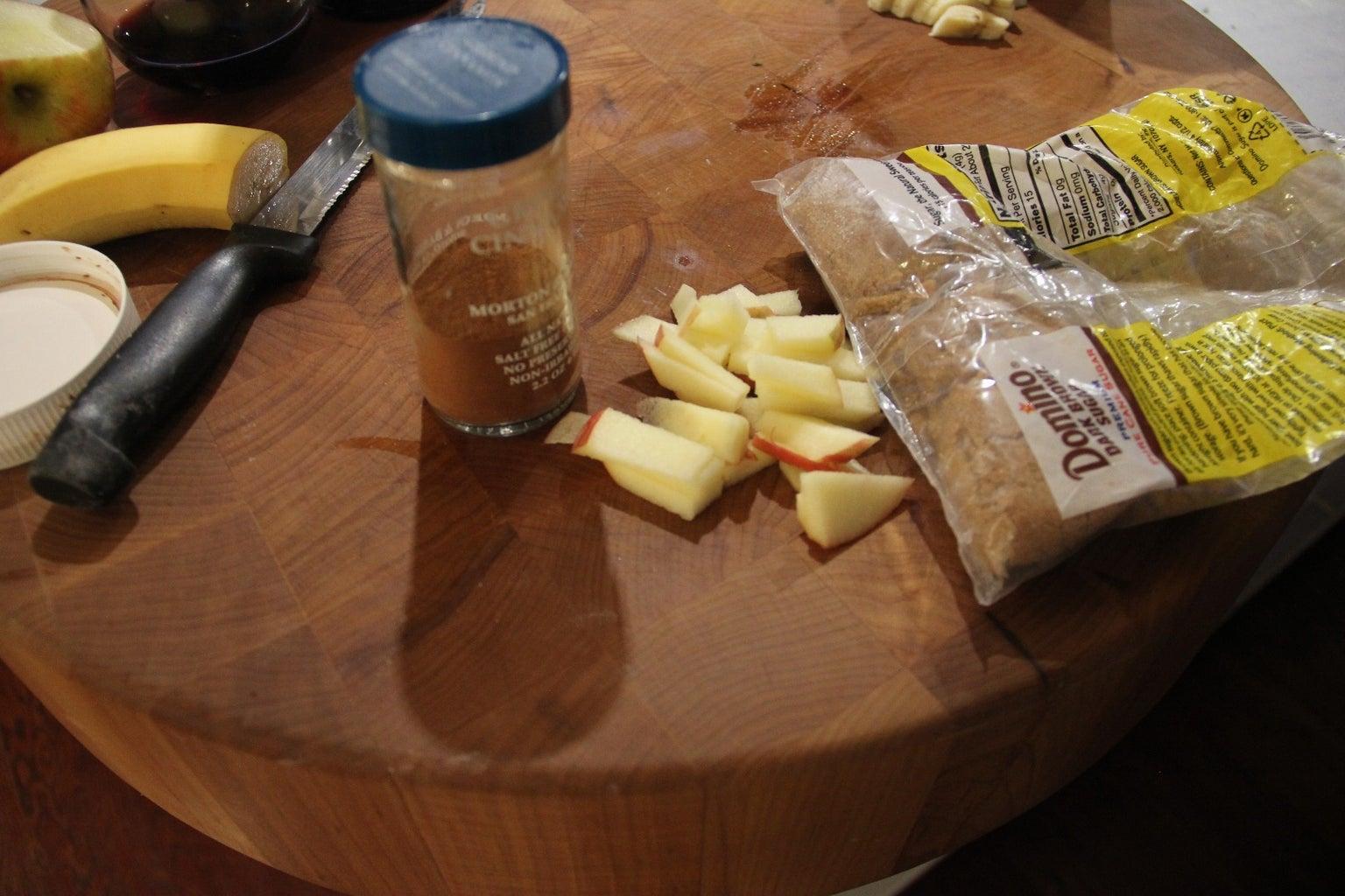 Apples and Brown Sugar and Cinnamon !