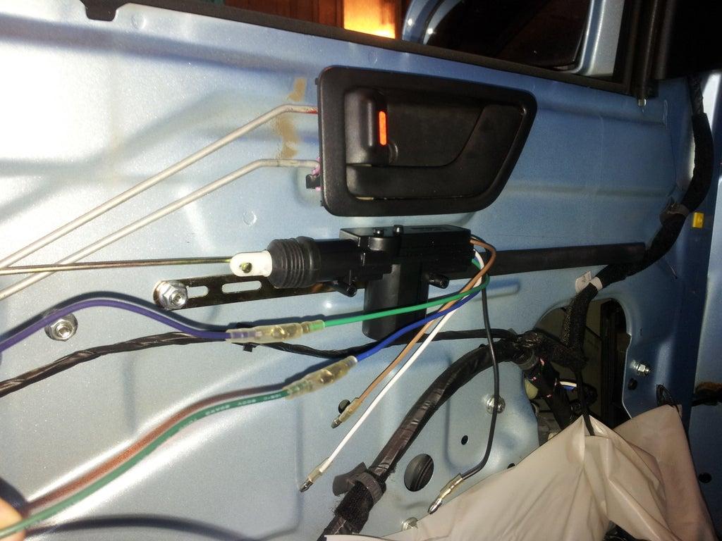 Hyundai Getz, Aftermarked Remote Controlled Central Lock : 4 Steps -  Instructables | Hyundai Getz Central Locking Wiring Diagram |  | Instructables