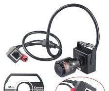 TOP-201 720P Mini IP Camera Review & Lens Colour Correction (2.8-12mm Zoom Lens)