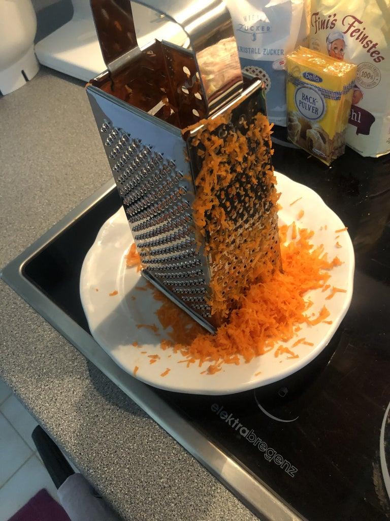 Prepare the Carrots