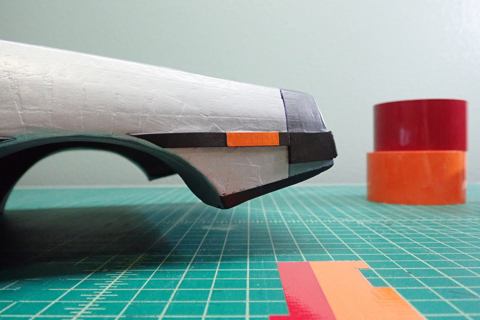 Tape and Craft Foam Details