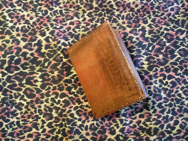 Use Cardboard to Make a Billfold or Wallet!
