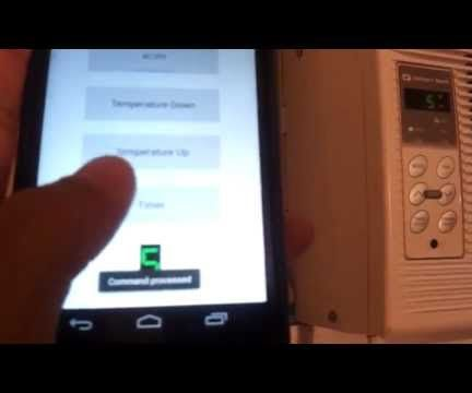 Controlling an IR Air Conditioner with Android and Arduino