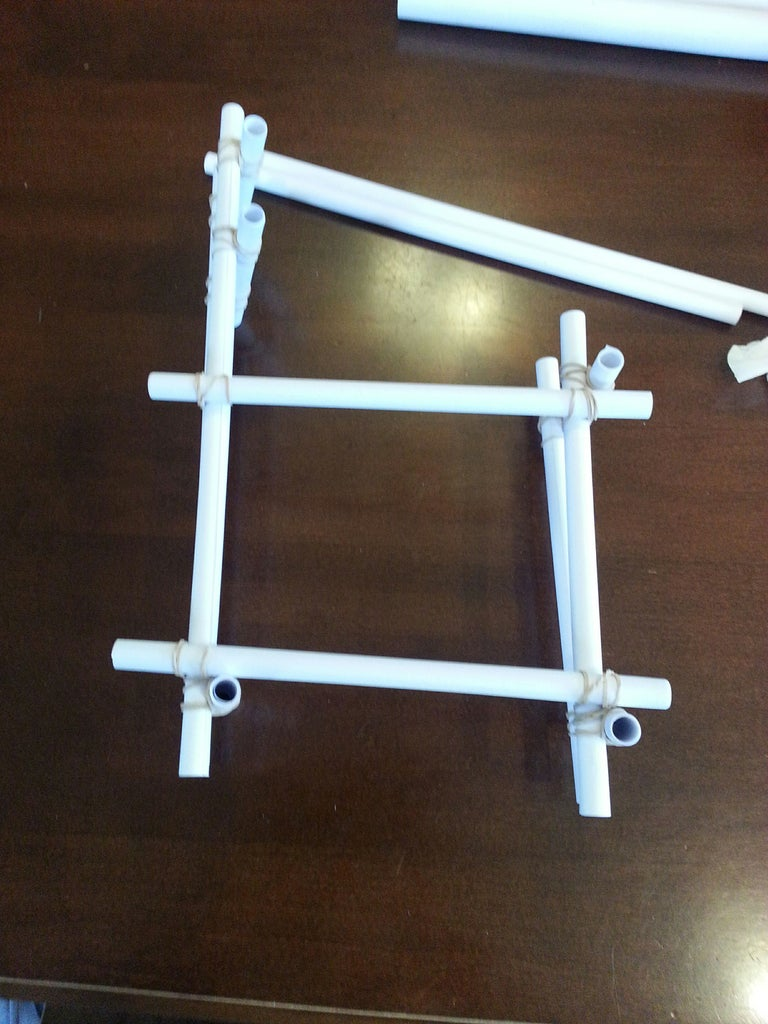 Join the Supports With Lateral Braces