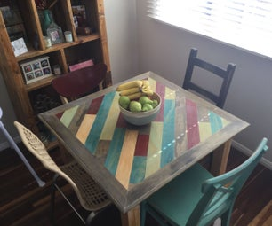 DIY Small Dining Room Table