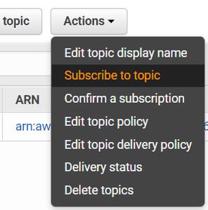 Create an AWS SNS Topic (Part 2)
