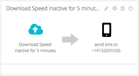 Notifications of Slow/no Internet