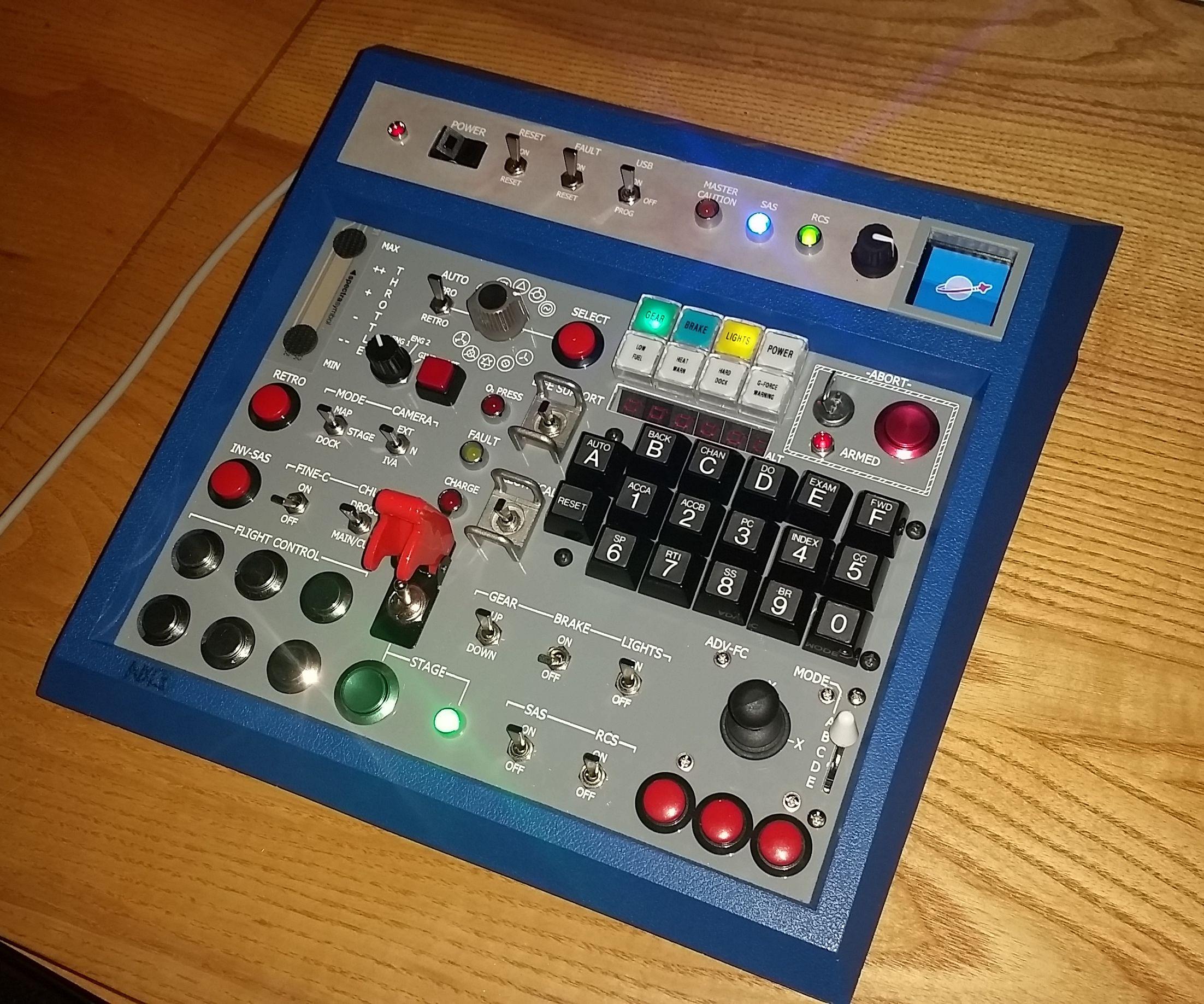 Kerbal Space Program Controller: