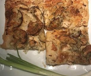 酥皮糕点迷迭香马铃薯和养鸡广场(常规&麸质免费)